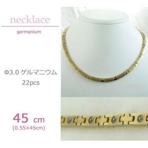 MARE(マーレ) ゲルマニウムネックレス 14G/IP ミラー/マット 176 0.55cm×45cm