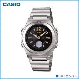 CASIO カシオ wave ceptor ソーラーコンビネーション LWA-M141D-1AJF 腕時計/電波/女性用/婦人用