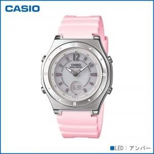 CASIO カシオ wave ceptor ソーラーコンビネーション LWA-M142-4AJF 腕時計/電波/女性用/婦人用