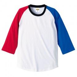5.0オンス ラグラン 3/4スリーブTシャツ 9カラー