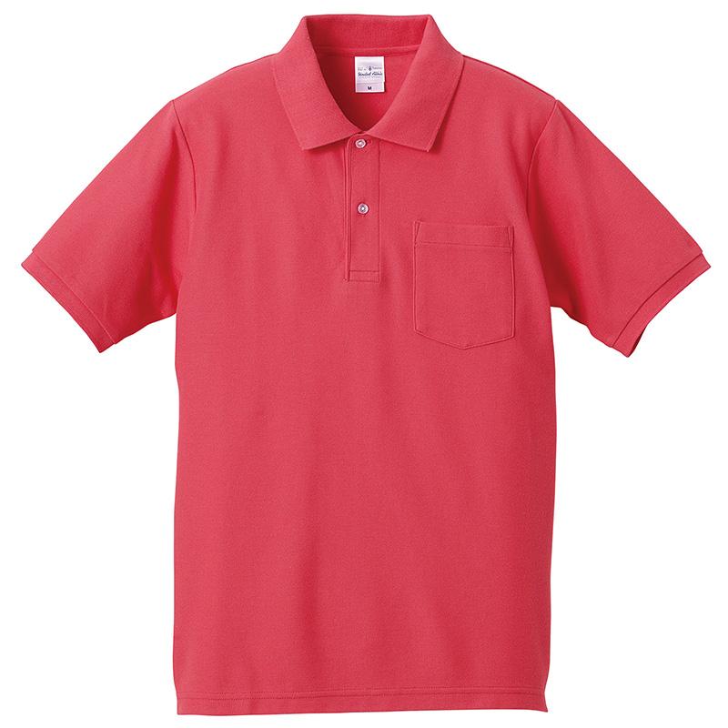 セール!! 6.2オンス ドライカノコ ハイブリッド ポロシャツ(ポケット付)5カラー ユニセックス