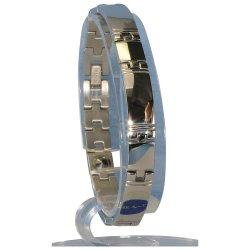 MARE(マーレ) 酸化チタン5個付ブレスレット PT/ IP ミラー 116L (20.5cm) H1103-20L
