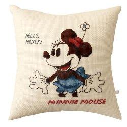 オリムパス 6033 ししゅうキット クッション ディズニー ミニーマウス