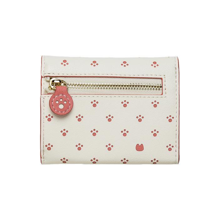 Minette 三つ折り財布 MWT-MIN01 ピンク「通販百貨 Happy Puppy」
