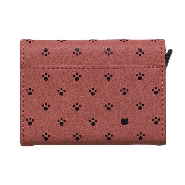 Minette カードウォレット CWT-MIN07 ピンクブラック「通販百貨 Happy Puppy」